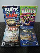 4 PC Slot Games -Jackpot Party, Slots from Bally Gaming, Lil Lady, Ghost Stories