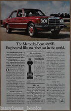 1975 MERCEDES BENZ 450SE advertisement, Mercedes-Benz 450 SE
