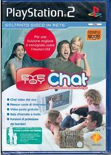 EYE TOY: CHAT Gioco Playstation 2  2004 Sony Computer SCES 52154 NUOVO SIGILLATO