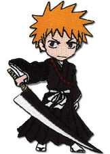 **License** Bleach SD Ichigo Kurosaki Iron On Patch #4418