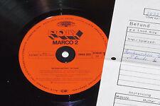 MARCO 2 -Ein Grund zum Feiern- LP 1980 Poly Archiv-Copy mint