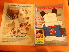 CORRIERE DEI PICCOLI NR  29  1983 con inserto gioco e poster ralphsupermaxieroe
