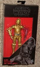 "Star Wars Black Series C-3PO Resistance Base 29 Red Arm Force Awakens 6"" Figure"