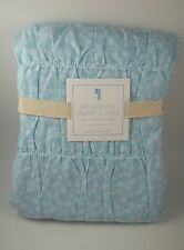 Pottery Barn Kids Teen Jacqueline Duvet Cover Twin Blue