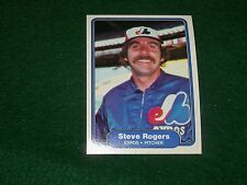 steve rogers (montreal expos-p) 1982  fleer CARD #205 mint condition