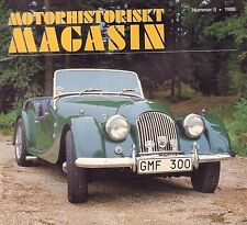 Motorhistoriskt Magasin Swedish Car Magazine #5 1986 Bilen 100 AR 031617nonDBE