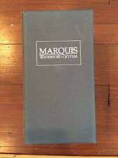 """Marquis By Waterford Crystal Hanover Gold 10"""" Vase"""