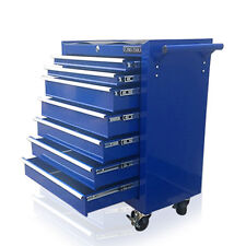374 US PRO BLUE TOOLS AFFORDABLE STEEL CHEST TOOL BOX ROLLER CABINET 7 DRAWERS