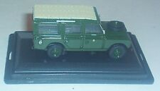 OXFORD DIECAST LAND ROVER SERIES II HOME COUNTIES INFANTRY DIVISION LWB GREEN