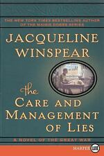 The Care and Management of Lies LP: A Novel of the Great War