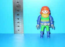 FIGURINE PLAYMOBIL - CHEVALIER MAILLE OR B104