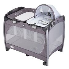 Joie Baby / Child / Kids Excursion Change & Rock Travel Cot - Khloe & Bert