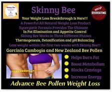 SKINNY BEE POLLEN CAPSULES NATURAL WEIGHT LOSS/POWERFUL APPETITE SUPPRESSANT 60