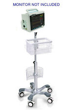 Rolling stand for CONTEC CMS6000 CMS-6000 PATIENT monitor (big wheel) NEW IN USA