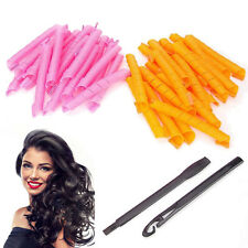 40pcs 50CM Curl DIY Hair Curlers Tool Styling Rollers Spiral Circle Magic Roller