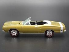 1969 Dodge Coronet R/T  GOLD CONVERTIBLE 1:64 LIMITED EDITION DIECAST MODEL CAR