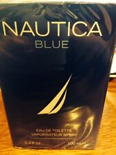 NAUTICA BLUE COLOGNE MEN 3.4 OZ EDT SPRAY BRAND NEW IN BOX