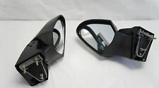 A pair rear view mirrors set fits Kawasaki 1400 14 ZG1400 Concours 2008-2014 ZG,