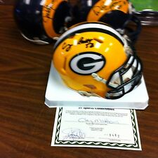 Clay Matthews~Autographed Green Bay Packers Riddell mini Helmet ~COA Authentic