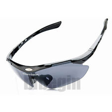 Outdoor ROCKBROS Pro Cycling Glasses Bike MTB Sports Sunglasses 3 Lens Goggles