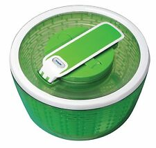 Zyliss Smart Touch Salad Spinner 26cms Drainer Washer Small Green Plastic