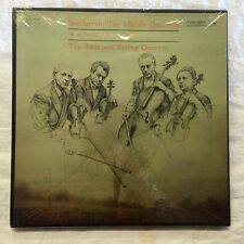 Budapest String Orchestra Beethoven The Middle Quartets Columbia M4L 254 Sealed