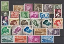 SPAIN - ESPAÑA - YEAR 1958 COMPLETE WITH ALL THE STAMPS MNH (NO MINISHEETS)