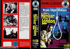 """VHS - """" Edgar WALLACE - """" Der Henker von LONDON """" (1963) - Hansjörg Felmy"""