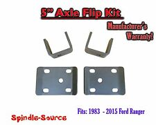 "1983 - 2015 Ford Ranger 5"" Inch Lowering Drop REAR AXLE FLIP KIT 83-15"