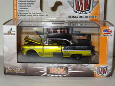 M2 MACHINES AUTO-MODS R3 SATIN GOLD & BLACK 1955 CHEVY BEL AIR 2-DOOR HARDTOP