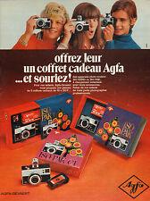 Publicité 1969  Appareil photo couleur ISO RAPID ou ISO PAK  Agfa Gevaert