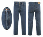 Mens Heavy Duty Tough Regular Fit Straight Jeans Quality Hard Wearing Jeans