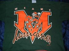 Vintage Miami Hurricanes T Shirt BIG XL