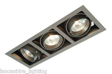 Saxby Box Triple Recessed Downlights 3 X MR16