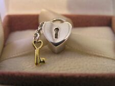 S925 Sterling Silver Key To My Heart Charm Pandora Box Option