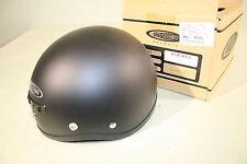 Cyber-US 1 Helmet Street  Motorcycle flat black LG Large 643233