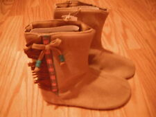 NEW Disney Store POCAHONTAS Toddler SHOES 5/6 HALLOWEEN COSTUME Boots INDIAN