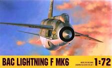 BAC LIGHTNING F MK 6 (RAF MARKINGS)  1/72 GOMIX (ex FROG)