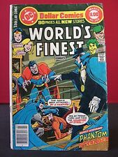 DC Comics 1978 World's Finest #249 Superman The Vampire of Steel