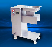 Stainless Steel Fresh Meat cutting machine, Meat cutter slicer,500KG output