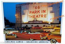 Plaque en métal ROADSIDE AMERICA route 66 voiture américaine auto déco chambre