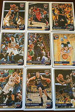 2015 2016 PELICANS 30 Card Lot w/ PANINI COMPLETE TEAM SET (13) 2015-16 Players