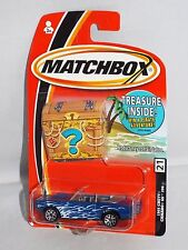 Matchbox Treasure Chest Series #21 1969 Chevy Camaro SS 396 Convertible Blue
