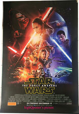 Star Wars The Force Awakens ORIGINAL 27x40 DS EP7 Cinema POSTER