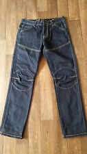 U267 MENS G-STAR RAW 96 DARK BLUE STRAIGHT LEG DENIM JEANS W30 L32