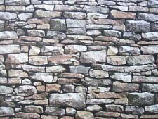Eagle Pass Rough Stone Wall Photographic Stones Northcott Fabric Yard
