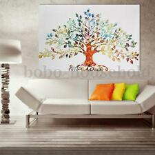 Unframed Tree Modern Abstract Wall Oil Painting Canvas Print Home Decoration HD