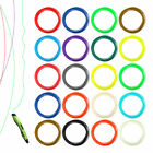 20X 1.75mm 5/10 Printing Filament ABS/PLA Modeling For 3D Printer Pen Drawing DS