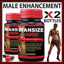 120 x MALE PENIS ENLARGER GROWTH PILLS GET BIGGER GROW LONGER THICKER SIZE/GIRTH