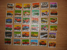 Oto Moto 1-100 Bubble Gum Wrappers almost full collection - 68 pcs